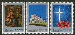 NEW ZEALAND, 1983 XMAS 3 MNH - New Zealand