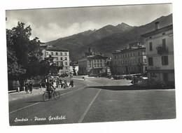 3274 - SONDRIO PIAZZA GARIBALDI ANIMATA 1957 - Sondrio