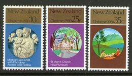 NEW ZEALAND, 1980 XMAS 3 MNH - New Zealand