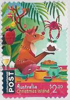 Christmas Island 2019 Christmas $2.20 Self Adhesive Good/fine Used [40/33043/ND] - Christmas Island