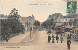 ILLE ET VILAINE  35  RENNES - L'AVENUE DE LA GARE - TRAMWAY - Rennes