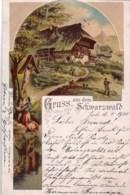 Deutschland - Gruss Vom SCHWARZWALD - 1900 - Gutach (Schwarzwaldbahn)