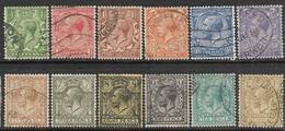 GB   1912   12 Diff Watermark 33  Used     2016 Scott Value $77.70 - 1902-1951 (Kings)
