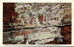 Missouri Branson Harold Bell Wrights Studio Marvek Cave At Bottom Of Grand Canyon Curteich - Branson