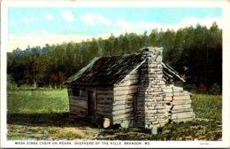 Missouri Branson Wash Gibbs Cabin On Roark Shepherd Of The Hills Curteich - Branson