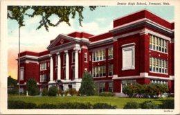 Nebraska Fremont Senior High School Curteich - Fremont