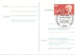 GERMANY PAUL LOBE POST CARD  (FEB20592) - Celebrità