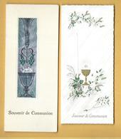 Lot De 4 Souvenirs De Communion - Communion