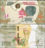 Madagascar 2017 - 2000 Ariary - Pick NEW UNC - Madagascar