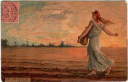 61lom 639 CPA - LA SEMEUSE - Peintures & Tableaux