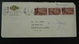 Flamme Sur Lettre Postmark On Cover Congreso International De Philatelia Madrid Espagne Spain 1960 - Poststempel - Freistempel