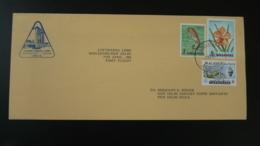 Lettre Premier Vol First Flight Cover Singapore ---> New Delhi India Lufthansa 1966 (ex 2) - Singapour (1959-...)