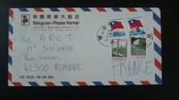 Lettre Par Avion Air Mail Cover Taoyuan Plaza Hotel Taiwan 1971 - 1945-... République De Chine