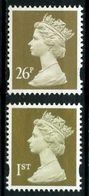 Gd BRETAGNE 1997  N° 1953/1954 ** Neufs MNH  Superbes C 3 € Série Courante Reine Elizabeth II - 1952-.... (Elizabeth II)