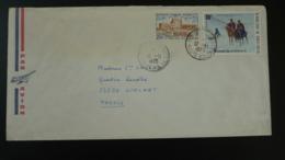 Lettre Par Avion Air Mail Cover Washington Lafayette Bicentenaire USA Haute Volta 1975 - Us Independence