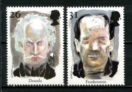 Gd BRETAGNE 1997  N° 1957/1958 ** Neufs MNH  Superbes C 3,50 € Europa Contes Et Légendes Dracula Stocker Frankenstein Sh - 1952-.... (Elizabeth II)