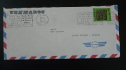 Lettre Par Avion Air Mail Cover Flamme Conférence Des Ministres De La CEA Tanger Maroc 1979 - Morocco (1956-...)