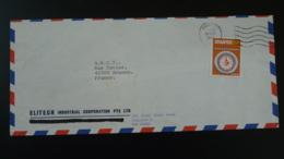 Lettre Par Avion Air Mail Cover Système Métrique Metric System Singapour Singapore 1979 - Singapour (1959-...)