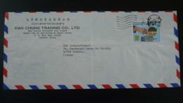 Lettre Par Avion Air Mail Cover Money Savings Taiwan 1979 - 1945-... République De Chine