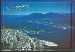 2001 - Canada > British Columbia > Vancouver Postcard Via Macedonia.port And Ship - Vancouver