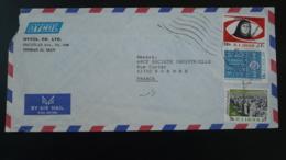 Lettre Par Avion Air Mail Cover Iran 1981 - Iran