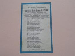 DP Josephina-Maria-Helena VAN THUYNE ( Dochter > ROOSE ) Yper 20 Juli 1928 - Zillebeke 29 Nov 1931 ( Zie Foto's ) ! - Todesanzeige