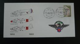 Lettre Aviation Base Aérienne 702 Avord Air 18 Cher 1982 - Vliegtuigen