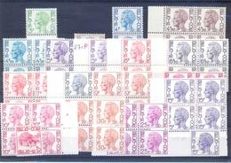 Een Restant Dienstzegels Postgaaf ** Type Velghe MNH - Dienstpost