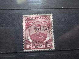 """VEND BEAU TIMBRE DE JOHORE N° 116 , OBLITERATION """" MUAR """" !!! - Johore"""