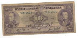 Venezuela 10 Bolivares, 1959. F. - Venezuela