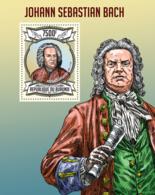 BURUNDI 2013 - Johann Sebastian Bach S/S. Official Issues. - Burundi