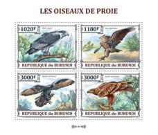 BURUNDI 2013 - Bird Of Prey M/S. Official Issues. - Burundi