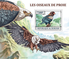 BURUNDI 2013 - Bird Of Prey S/S. Official Issues. - Burundi