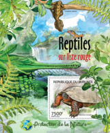 BURUNDI 2012 - Reptiles Of Red List S/S. Official Issues. - Burundi