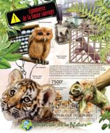 BURUNDI 2012 - Trade In Wildlife S/S. Official Issues. - Burundi
