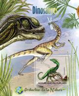 BURUNDI 2012 - Dinosaurs S/S. Official Issues. - Burundi