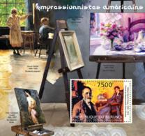 BURUNDI 2012 - Impressionists Of American S/S. Official Issues. - Burundi