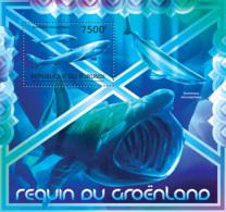 BURUNDI 2012 - Greenland Shark S/S. Official Issues. - Burundi