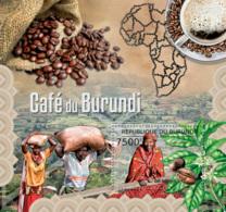 BURUNDI 2012 - Coffee Of Burundi S/S. Official Issues. - Burundi