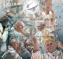 BURUNDI 2012 - Pope John Paul II M/S. Official Issues. - Burundi
