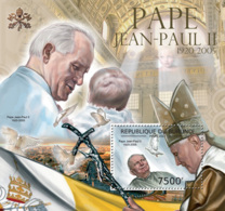 BURUNDI 2012 - Pope John Paul II S/S. Official Issues. - Burundi