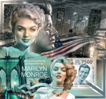 BURUNDI 2012 - Marlilyn Monroe S/S. Official Issues. - Burundi