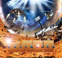 BURUNDI 2012 - Mars Curiosity S/S. Official Issues. - Burundi