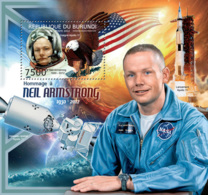 BURUNDI 2012 - Neil Armstrong S/S. Official Issues. - Burundi