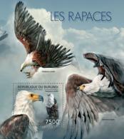 BURUNDI 2012 - Birds Of Prey S/S. Official Issues. - Burundi