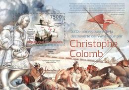 BURUNDI 2012 - Columbus S/S. Official Issues. - 2010-..: Ungebraucht
