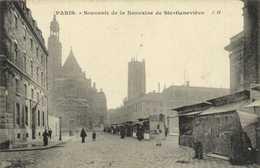 """PARIS """"Souvenir De La Neuvaine De Ste Genevieve"""" RV - Churches"""