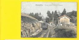 CHAMOUILLEY Colorisée Passage à Niveau Route De Cousances () Haute Marne (52) - Autres Communes