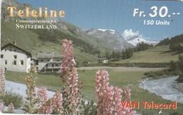 Switzerland - Teleline - Ferme De Montagne - Switzerland