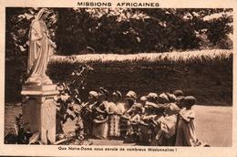 Missions Africaines - Que Notre-Dame Nous Envoie De Nombreux Missionnaires - Misiones